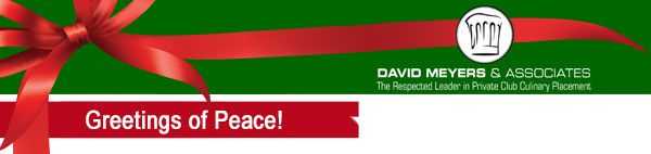Greetings of Peace from David Meyers and Associates