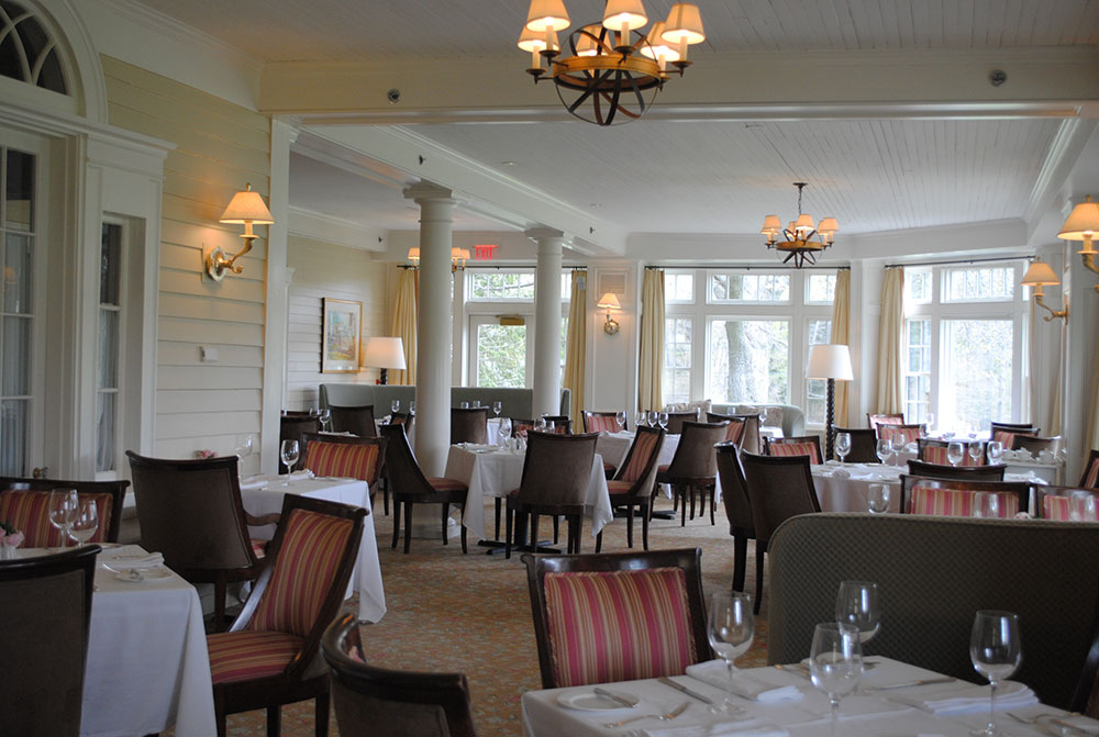 Director of culinary operations the country club for Dining room operations
