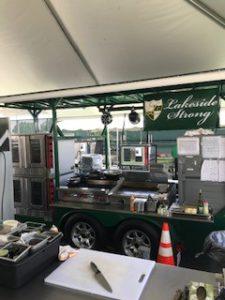 Lakeside Golf Cart Kitchen